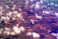 clouds over plains