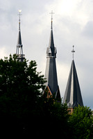 three steeples