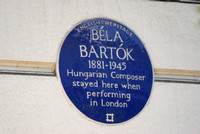Bartok, London