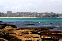 Manly beach from Shelley beach 2