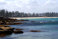 Manly beach from Shelley beach 3