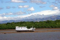 very low tide, Puntarenas