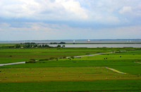 dutch countryside from holysloot tower 2