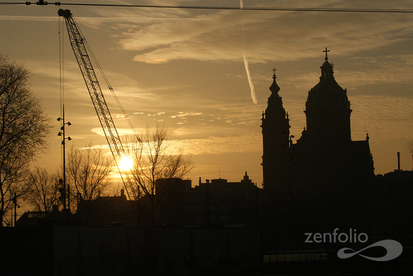 sunrise central Amsterdam 2