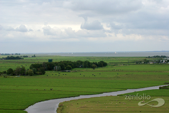 dutch countryside from ransdorp tower 3