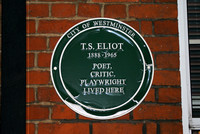T.S. Eliot, London