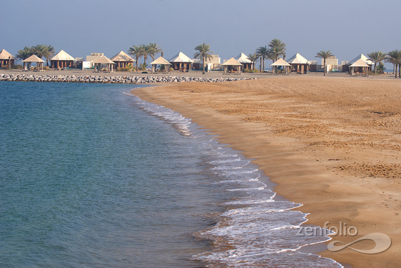 beach at Ras Al Kaimah